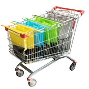 Karlstert - Sort & Carry Shopping Trolley Bags Set 4pce