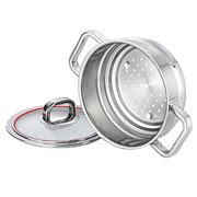 Scanpan - Accent Universal Steamer with Lid 20cm