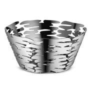 Alessi - Barket Round Basket Stainless Steel 21x10x21cm