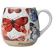 Robert Gordon - Bromley Hug Me Mug Butterflies Red XL 550ml
