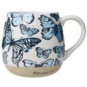 Robert Gordon - Bromley Hug Me Mug Butterflies Blue 550ml