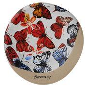 Robert Gordon - Bromley Coaster Butterflies Red