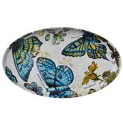 Robert Gordon - Bromley Oval Platter Butterflies 41cm