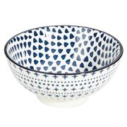 Gusta - Out Of The Blue Round Bowl Drops 12cm