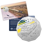 RA Mint - 2020 50 Cent The Indian Pacific Anniversary Coin
