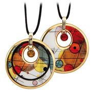 Goebel - Wassily Kandinsky Circles In A Circle Necklace