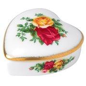 Royal Albert - Old Country Roses Heart Box
