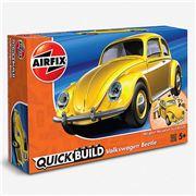 Airfix - Quick Build Volkswagen Beetle Yellow