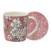 Ecology - May Gibbs Flower Babies Mug/Coaster Set Pink 320ml