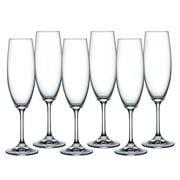 Bohemia - Lara Champagne Flute 220ml Set 6pce