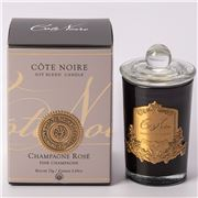 Cote Noire - Pink Champagne Candle Pink 75g