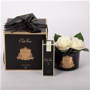 Cote Noire - Gardenia Flower Blk Glass G/Crest w/Fragrance