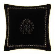 Roberto Cavalli - Venezia Cushion Black 40x40cm