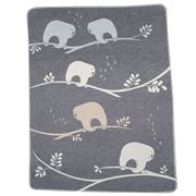 David Fussenegger - Grey Sloths Juwel Bassinet Blanket