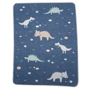 David Fussenegger - Blue Dinos Juwel Bassinet Blanket