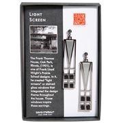 David Howell - Lightscreen Window Earrings Chrome