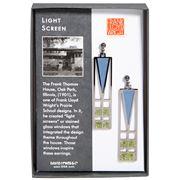 David Howell - Lightscreen Window Earrings Blue