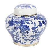 Luxe By Peter's - Bluebirds Porcelain Jar 22x21cm