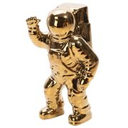 Luxe By Peter's - Astronaut Ceramic Gold Toned 27cm