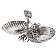 Luxe By Peter's - Sealife Dishes On Stand  43x23cm