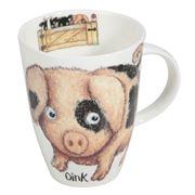 Roy Kirkham - Please Shut The Gate Mug Pig 400ml