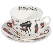 Roy Kirkham - Breakfast Cup & Saucer Concert 2pce