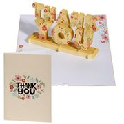 Colorpop - Floral Thank You Greeting Card