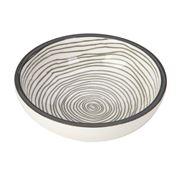 Gusta - Grey Dish Swirl 9cm