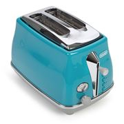 DeLonghi - Icona Capitals Two Slice Toaster CTOC2003 Azure