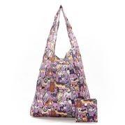 Eco-Chic - Foldaway Shopper Dogs Lilac