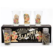 Luxe By Peter's - Phrenology Palmistry Tequila Slammer Set