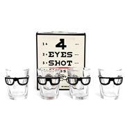 Luxe By Peter's - Eye Shot Glasses Set 4pce