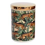 Luxe By Peter's - Safari Canister Leopard 15cm