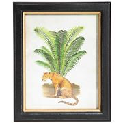 Luxe By Peter's - Safari Framed Print Leopard 20x25cm