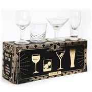 Luxe By Peter's - Mini Cocktail Shot Glass Set 4pce