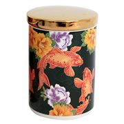 Luxe By Peter's - Koi Fish  Canister Yellow 15cm