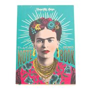 Luxe By Peter's - A6 Frida Kahlo Notepad Teal