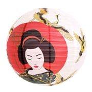 Luxe By Peter's -  Geisha Paper Lantern White 50x50cm