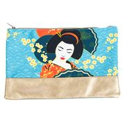 Luxe By Peter's - Geisha Toiletry Bag Blue