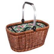 Avanti - Insulated Wicker Picnic Basket Tropical Hibiscus