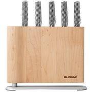 Global - Uku Knife Block Set Maple 6pce