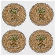 Joanna Buchanan - Pineapple Coaster Set 4pce