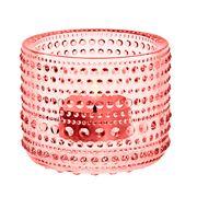 iittala - Kastehelmi Votive Candle Holder Salmon Pink