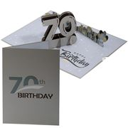 Colorpop - 70th Birthday Card