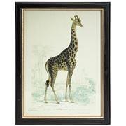 Luxe By Peter's - Safari Animal Print Frame Giraffe