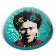 Luxe By Peter's - Frida Kahlo Blue Paperweight 7.8x4x7.8cm