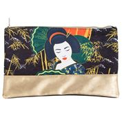 Luxe By Peter's - Geisha Toiletry Bag Green