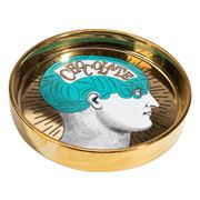 Luxe By Peter's - Phrenology Round Dish Green 13cm