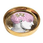 Luxe By Peter's - Phrenology Round Dish Light Pink 13cm