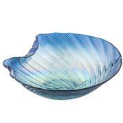 Anya - Olas Bowl Turquoise/Aqua 23cm